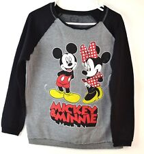 Disney  Women Mickey & Minnie Swatshirt, Size M