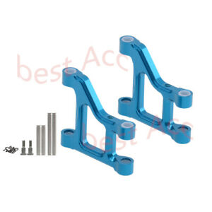 2Pc Aluminum Front Lower Suspension Arm For Rc Model 1/10 Tamiya CC01 CC-01 4WD