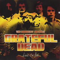 The Grateful Dead : Live On Air CD (2017) ***NEW*** FREE Shipping, Save £s