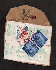 US #1047 & 1208 and PB Postage Due meters, Minneapolis, MN, 1967.