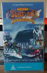 That's Surfing: History of Australian Surfing - 1998 one owner VHS
