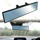 Universal Flat 300mm Wide Broadway Blue Tint Interior Clip On Rear View Mirror