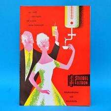 Stiebel Eltron Küchenboiler mit Kochstufe 1959 | Werbung Prospekt