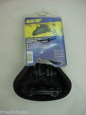New GT EXTRA THICK Black JUMP SEAT Bicycle BMX Bike HARO Racing SADDLE NOS!