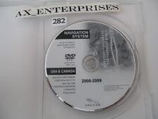 2007 2008 2009 Jaguar XK XKR Navigation DVD # 10E898-BE WEST Map Edition 08-2009