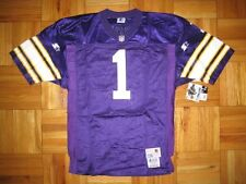 1995 Authentic Vikings Warren Moon STARTER jersey SIGNED PRO-Line Autographed