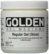 GOLDEN ACRYLIC : Regular Gel GLOSS : 236ml : 473ml : 946ml