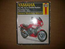 89 90 91-97 1991 YAMAHA FZR600 FJ/XJ 600 HAYNES SHOP MANUEL