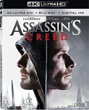 ASSASSINS' CREED (4K ULTRA HD) - Blu Ray - Region free