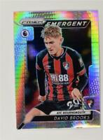 2019-20 Prizm Premier League Emergent Hyper #E-17 David Brooks - AFC Bournemouth