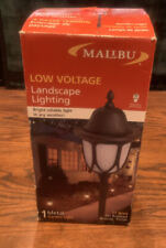 Malibu Low Voltage Outdoor Pathway Oil Rubbed Bronze Landscape Garden Light NEW