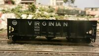 Roundhouse MDC HO 40' Virginian Triple Bay Hopper, Upgraded, Exc.