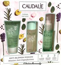 CAUDALIE Vinopure Skin Perfecting Serum 1oz+Purifying Gel Cleanser+Toner SET $62