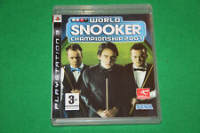 World Snooker Championship 2007 (Englisch) PS3 Playstation 3