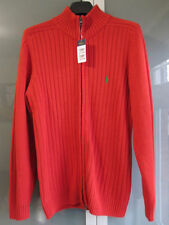 Ralph Lauren Patternless Zip Cardigans for Men