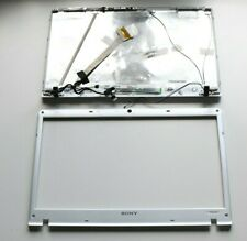 SONY VAIO PCG-71212M lid + front bezel + Camera + LCD cable + Hinges w/ support