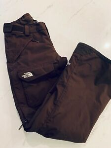 The North Face Women's Brown HyVent Snow Ski Pants Size Small