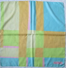 JEAN DESSÉS   foulard 100% soie  en TBEG vintage 75 X 78 cm