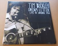 TIM BUCKLEY Dream Letter: Live In London 1968 US 180 gram vinyl 2-LP SEALED