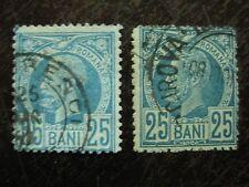 Rumänien Mi.-Nr. 67 und 68 gest.