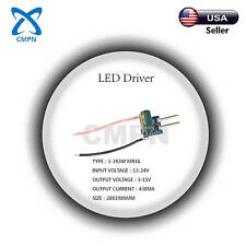 3W High Power Driver Supply AC 12-24V DC 3-11V 430MA 1-3X3W Constant Current LED