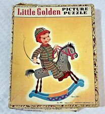Vintage 1948 Little Golden Picture Puzzle Busy Timmy Complete with Box
