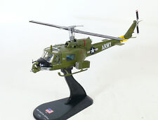 helicopter Bell UH-1B Huey US Army 128th AHC Vietnam 1968 diecast  1:72 metal