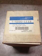 JOHNSON CONTROLS T-5220-1113 PRESSURE TRANSMITTER T-5220-1113 (NIB)
