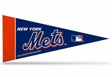"New MLB New York Mets Mini Pennant  9""x4"" Made in USA Flag Banner"