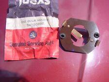 NOS LUCAS Fog Light Bulb Holder Jaguar XK140 MKX MGTD MGA Morgan + 4 MGTD MGA