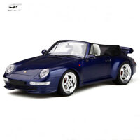 GT Spirit 1:18 Porsche 911 993 Turbo Convertible Car Model Resin Collection