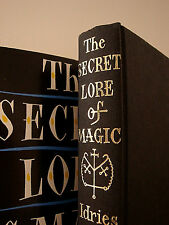 Rare SECRET LORE OF MAGIC by Shah HARDCOVER / OCCULT GRIMOIRE MAGICK WITCHCRAFT