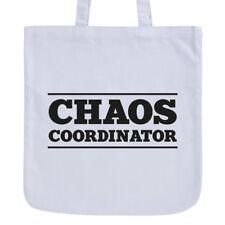 """JUNIWORDS Pastell Jutebeutel Motiv """"Chaos coordinator"""" ver. Farben Geschenk Bag"""