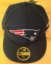 New NFL New England Patriots New Era Low Profile 59Fifty Fitted Cap/Hat Sz 7 1/4