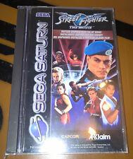 ## Street Fighter The Movie - SEGA SATURN Spiel - NEUWARE / NEW / SEALED ##