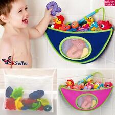 Juguete baño niño/bebé organizador almacenamiento bolsa Red Malla poseedor