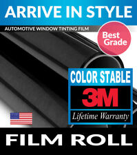 Black 20/% VLT Film Toyota Camry 4dr 97-01 PreCut Window Tint