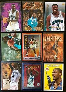 LARRY JOHNSON (120) NBA CARD LOT Rookies Inserts Rainbows SP FINEST Metal 🇺🇸🔥