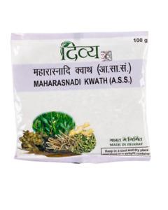 Patanjali Divya maharasnadi kwath 100 gm each choose bulk free ship