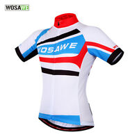 2017 Sports Cycling Bicycle Bike Outdoor Top Jersey Shirt Short Sleeve Full Zip