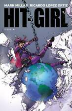 HIT-GIRL #4 COVER A REEDER  IMAGE NM