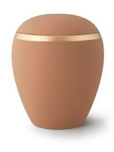 Natural Sand Ceramic Cremation Ashes Urn - (Croma Edition) - Adult Size