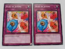 2 Cartes Yu Gi Oh Ruée De Jetons STOR-FR076