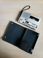 Sony TC-150A Cassette Recorder Player and Case - Parts/Repair Movie Prop 80s 90s