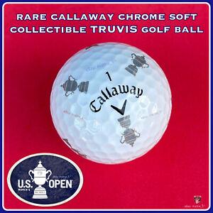 (1) RARE Callaway Chrome Soft TRUVIS Golf BALL - Women's U.S. Open Trophy