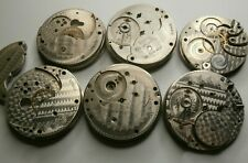 Parts Lot Grades 830 835 935 586 Antique Rockford 18s & 16s 17j-15j Pocket Watch