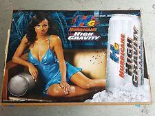 Brand New Budweiser Hurricane Beer Hot Black Girl Model Poster