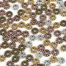Wholesale Tibetan Silver Daisy Flower Spacer Beads Jewelry Findings DIY 4/6mm FA