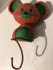 1977 Hallmark Stocking Hanger: Calico Mouse