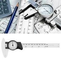 0-150mm Plastic Dial Vernier Caliper Ruler Gauge Professional Measure 0.1mm
